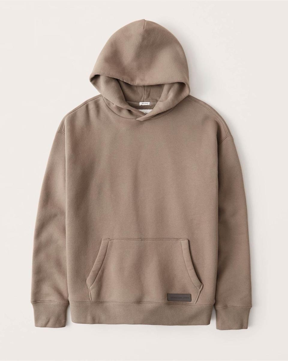 """<p><strong>Abercrombie & Fitch</strong></p><p>abercrombie.com</p><p><a href=""""https://go.redirectingat.com?id=74968X1596630&url=https%3A%2F%2Fwww.abercrombie.com%2Fshop%2Fus%2Fp%2Frelaxed-classic-hoodie-43073319&sref=https%3A%2F%2Fwww.esquire.com%2Fstyle%2Fmens-fashion%2Fg35797815%2Fabercrombie-fitch-discount-sale-code-march-2021%2F"""" rel=""""nofollow noopener"""" target=""""_blank"""" data-ylk=""""slk:Shop Now"""" class=""""link rapid-noclick-resp"""">Shop Now</a></p><p><strong><strong><del>$69.00</del> $49.85 (28% off)</strong></strong></p>"""
