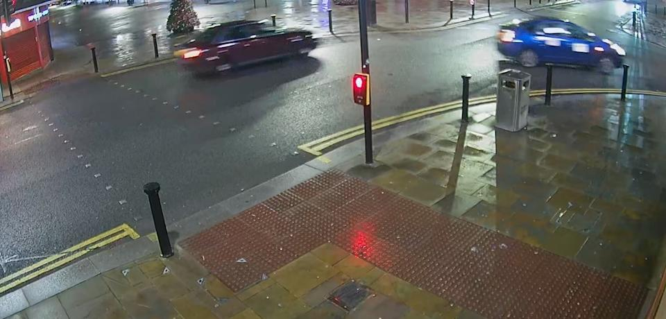 A 14-year-old girl injured in the hit-and-run is in a serious condition in hospital, police said. (Greater Manchester Police)