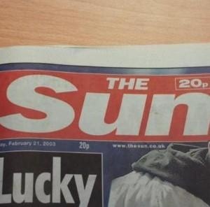 Outrage over Sun's Reeva Steenkamp front page