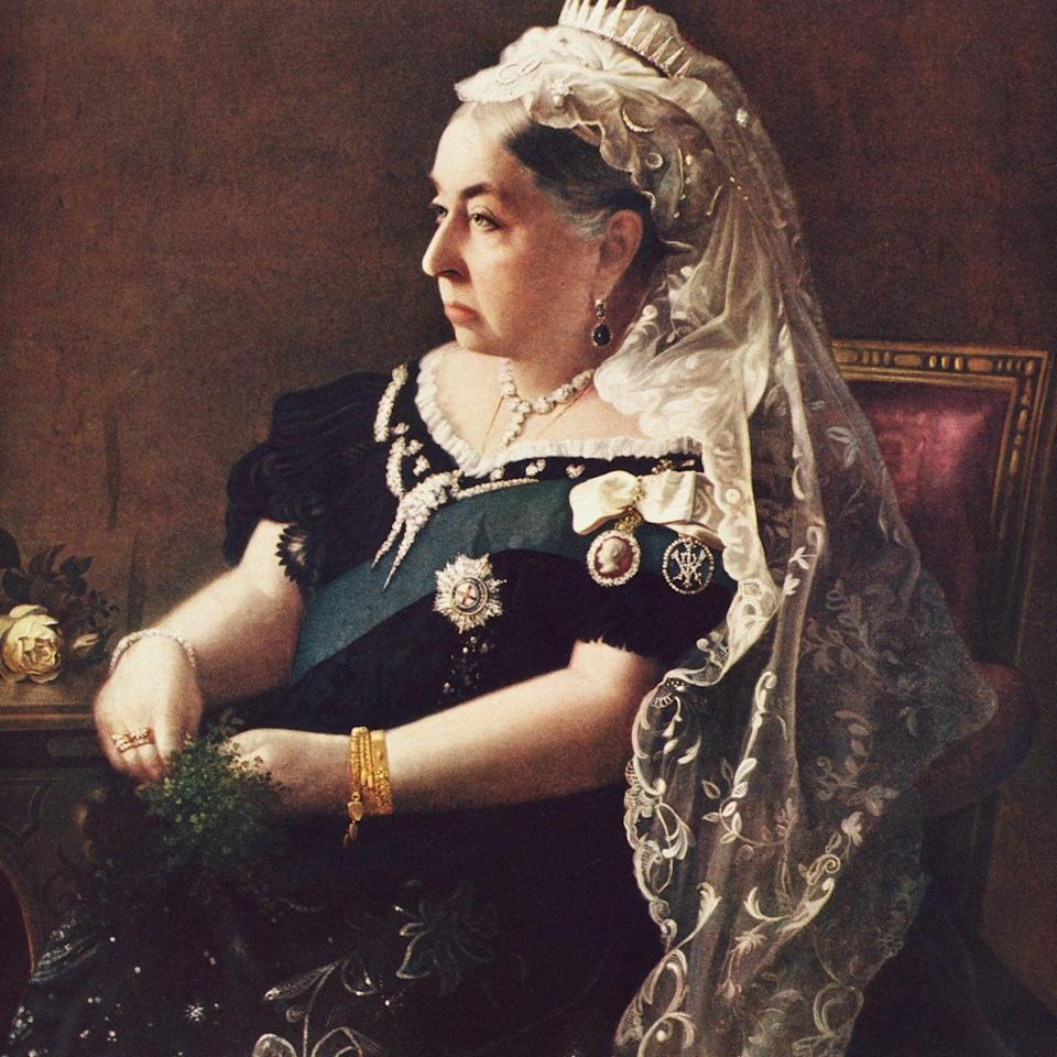 Queen Victoria is among the long list of royals who have penned books - Hulton Deutsch/Corbis