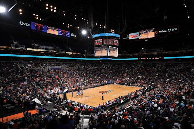 The city of Phoenix approved stadium renovations to Talking Stick Resort Arena. (Getty Images)