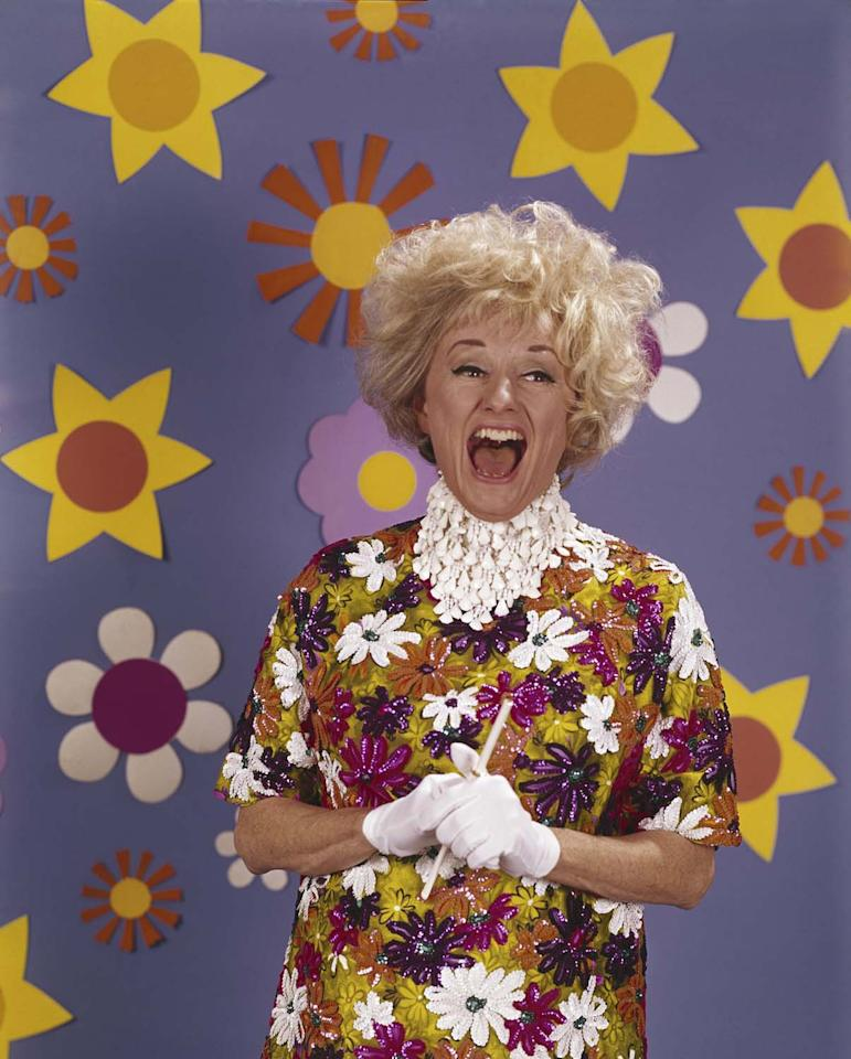 PHYLLIS DILLER -- Pictured: Comedian Phyllis Diller -- Photo by: NBCU Photo Bank
