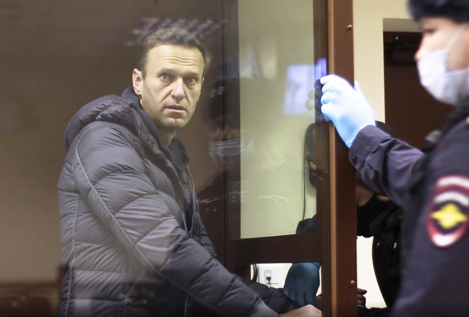 Alexei Navalny (Babuskinsky District Court via AP)