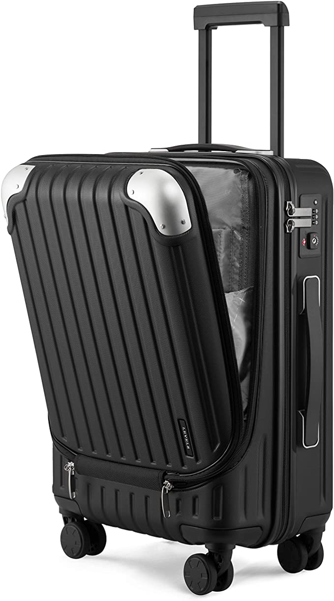 """<h2>Best Carry-On</h2><br><strong>Level8 Carry-On Hardside Suitcase</strong><br>A 20"""" carry-on designed for convenience, this hardshell suitcase features an external zipper pocket meant for a laptop and electronics, 360 degree spinner wheels, and a TSA combination lock. <br><br><br><strong>The Hype: </strong><span>4.6 out of 5 stars; 323 reviews on <a href=""""https://amzn.to/2SAL8gr"""" rel=""""nofollow noopener"""" target=""""_blank"""" data-ylk=""""slk:Amazon"""" class=""""link rapid-noclick-resp"""">Amazon</a></span><br><strong><br>Luggage Lovers Say:</strong> """"My carry-on suitcase arrived yesterday. I am very impressed with the quality of construction and functionality. Most carry-ons are either for my computer and accessories with little or no room for clothes, or they are fine for clothes but have no provisions for storing and protecting a computer. This will be great for both. I loaded my 15"""" Mac into the padded compartment and my iPad in the smaller padded compartment. There is room for accessories and cables in that compartment. There is a ton of space available in the main compartment for clothes and toiletries, or anything else you need. I like that the computer and tablet have their own compartment with easy access!"""" — Bilfis, Amazon Reviewer<br><br><strong>LEVEL8</strong> 20"""" Carry-On Hardside Luggage, $, available at <a href=""""https://amzn.to/2SAL8gr"""" rel=""""nofollow noopener"""" target=""""_blank"""" data-ylk=""""slk:Amazon"""" class=""""link rapid-noclick-resp"""">Amazon</a>"""