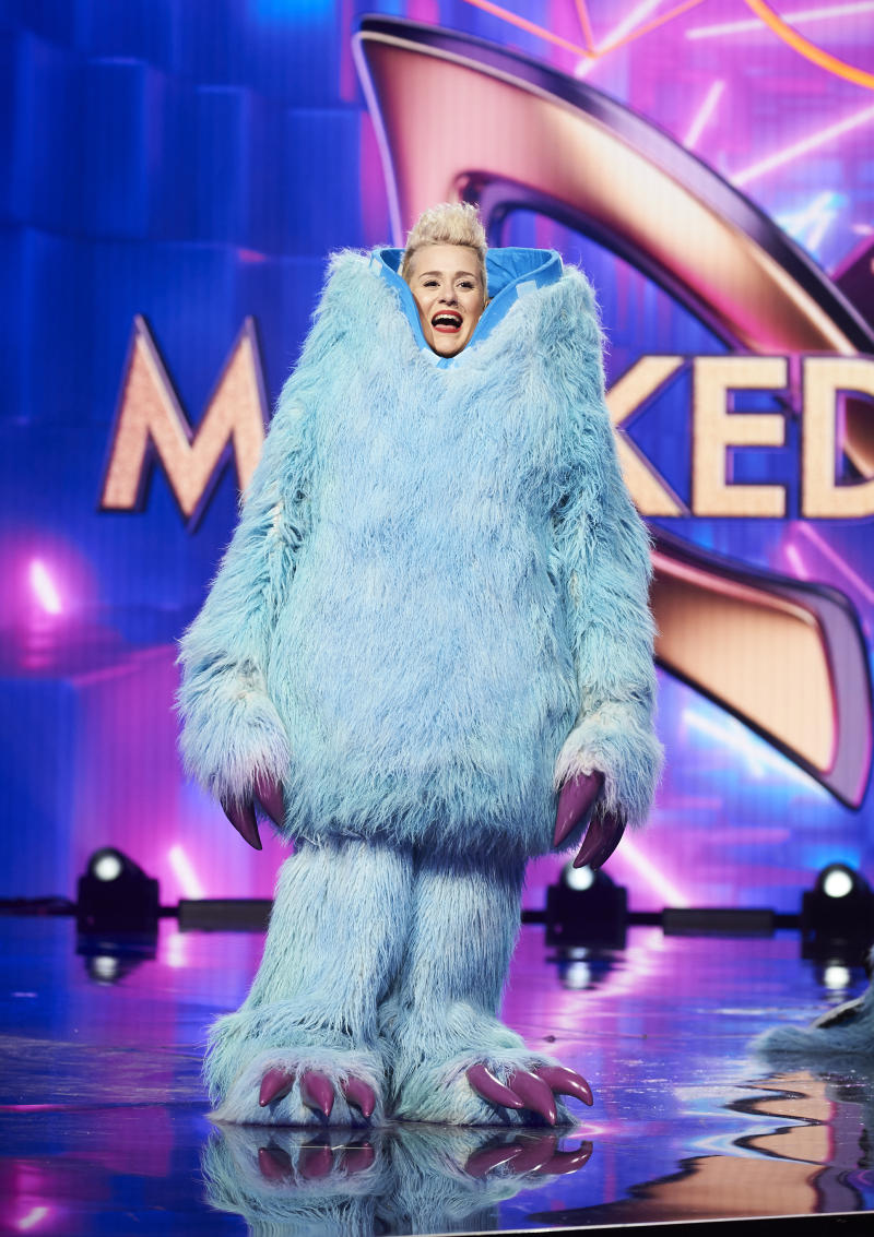 Katie Noonan on the Masked Singer 2020