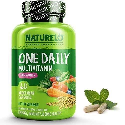 """<p><strong>NATURELO</strong></p><p>Amazon</p><p><strong>$19.95</strong></p><p><a href=""""http://www.amazon.com/dp/B01FYD6U06/?tag=syn-yahoo-20&ascsubtag=%5Bartid%7C10070.g.3065%5Bsrc%7Cyahoo-us"""" rel=""""nofollow noopener"""" target=""""_blank"""" data-ylk=""""slk:SHOP NOW"""" class=""""link rapid-noclick-resp"""">SHOP NOW</a></p><p>This multivitamin is made from a blend of organic fruits and vegetables containing vitamin A, C, D3, E, B12, calcium, and folate (which is a more absorbable version of folic acid). </p>"""