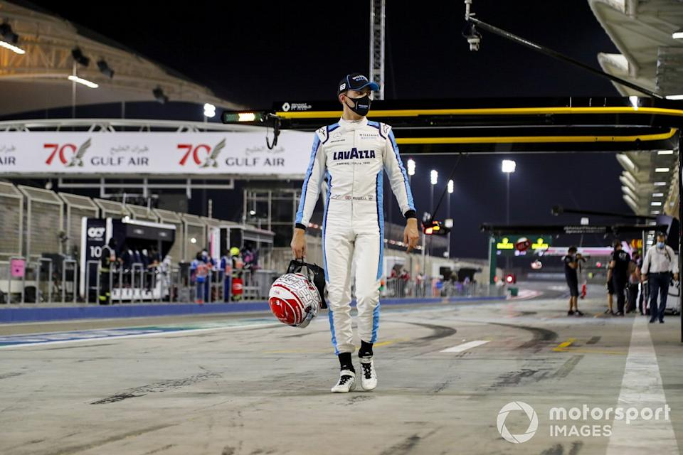 """George Russell, Williams Racing<span class=""""copyright"""">Steven Tee / Motorsport Images</span>"""