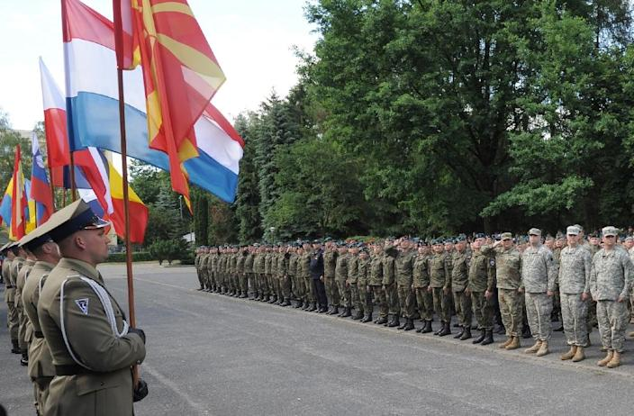 NATO says 31,000 soldiers from 24 states will be involved in the Anaconda exercises in Poland (AFP Photo/Marek Jezierski)