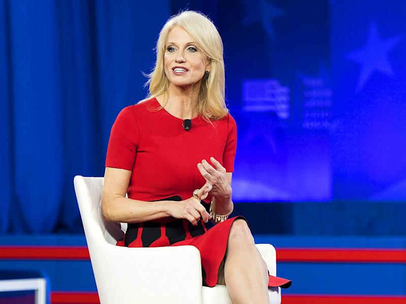 Kellyanne Conway said she should have been able to 'brush off' her comments: Rex