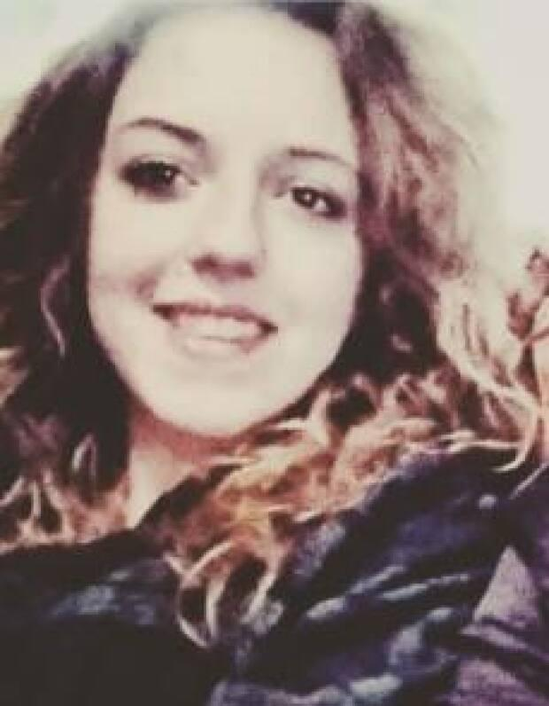 The Integrated Homicide Investigation team say foul play is suspected in the death of 19-year-old Melissa Elizabeth Steele, whose body was found along Highway 1 north of Hope, B.C. on Wednesday. (IHIT/Submitted - image credit)