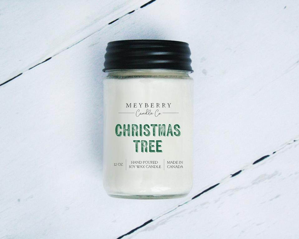 Mayberry Christmas Tree candle, $27 (originally $30).