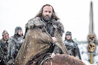<p>Bigger isn't always better; his brother, the Mountain, learned that the hard way. Sandor Clegane has learned how to keep his head down, which is tough when your head's that high up. He's strong enough to protect himself and wary enough not to get involved in anything too dangerous.<br><br>(Photo Credit: HBO) </p>