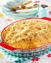 """<p>You don't have to do a ton of prep work to make this rich and comforting side dish. It's made with frozen shredded hash browns.</p><p><a href=""""https://www.thepioneerwoman.com/food-cooking/recipes/a36841846/cheesy-potato-casserole/"""" rel=""""nofollow noopener"""" target=""""_blank"""" data-ylk=""""slk:Get the recipe."""" class=""""link rapid-noclick-resp""""><strong>Get the recipe.</strong></a></p>"""