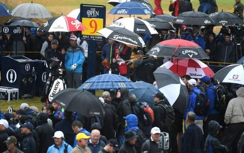 Despite not winning a major in 10 years, Woods still draws the biggest crowds -Despite not winning a major in 10 years, Woods still draws the biggest crowds  - Credit: Getty Images