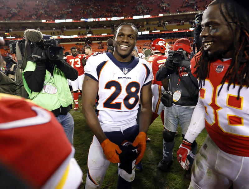 Jaguars sign RB Jamaal Charles to one-year deal