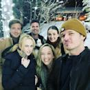 """<p>The actress's """"pod squad"""" (<a href=""""https://people.com/movies/rebel-wilson-started-dating-boyfriend-jacob-busch-before-year-of-health/"""" rel=""""nofollow noopener"""" target=""""_blank"""" data-ylk=""""slk:including boyfriend Jacob Busch"""" class=""""link rapid-noclick-resp"""">including boyfriend Jacob Busch</a>) is having a white Christmas somewhere stunning.</p>"""