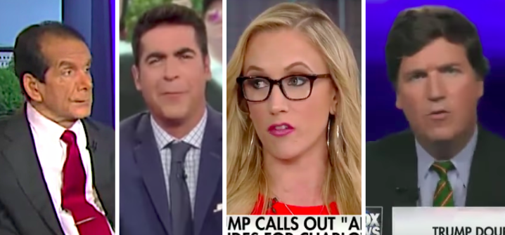 Fox News hosts had wildly different reactions to President Donald Trump's press conference on Tuesday.
