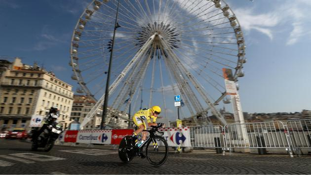 Froome all-but completes fourth Tour de France win after Marseille time trial