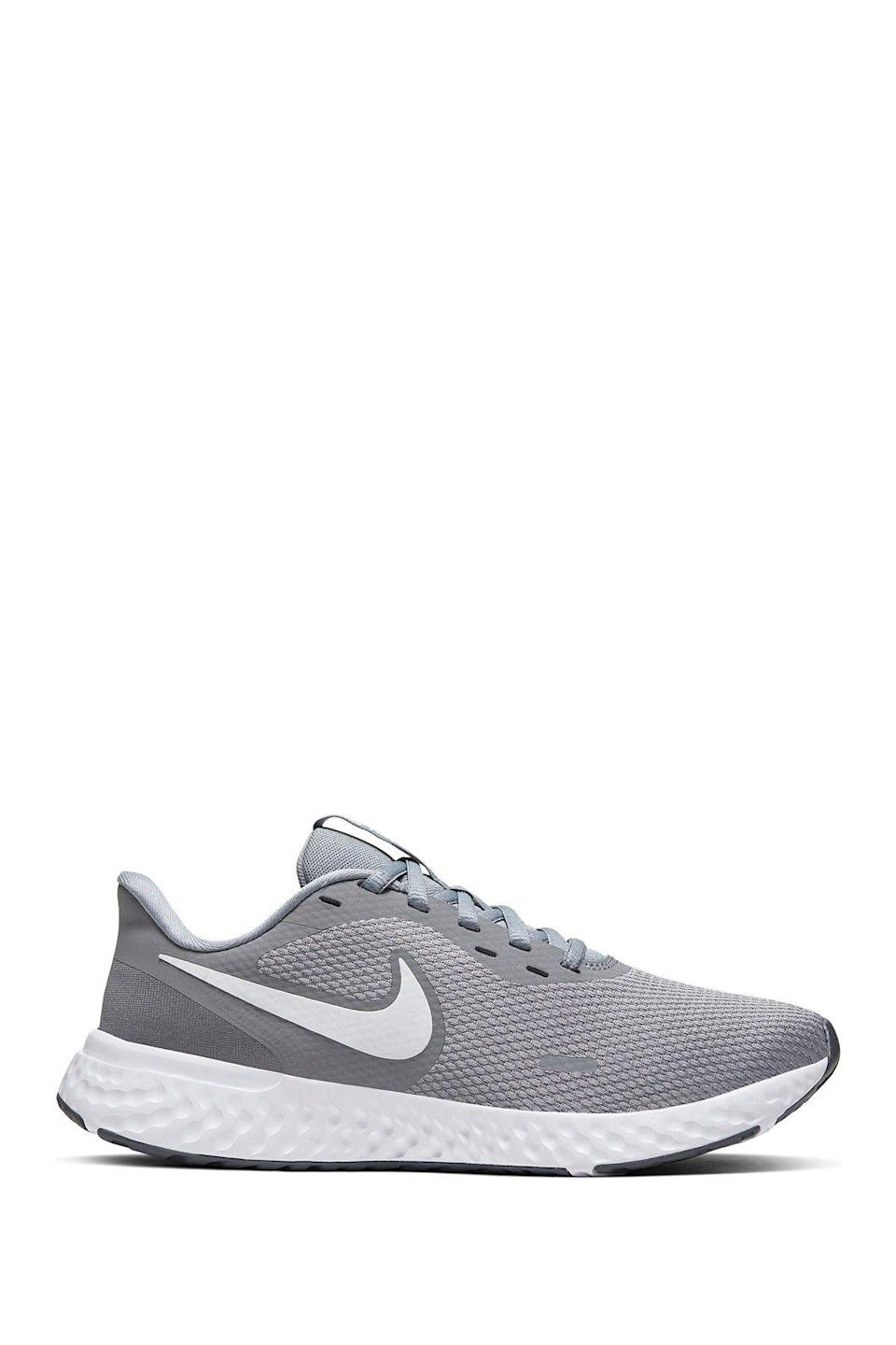 """<p><strong>Nike</strong></p><p>nordstromrack.com</p><p><a href=""""https://go.redirectingat.com?id=74968X1596630&url=https%3A%2F%2Fwww.nordstromrack.com%2Fshop%2Fproduct%2F2930548&sref=https%3A%2F%2Fwww.womenshealthmag.com%2Fstyle%2Fg33534500%2Fnordstrom-rack-nike-sale%2F"""" rel=""""nofollow noopener"""" target=""""_blank"""" data-ylk=""""slk:Shop Now"""" class=""""link rapid-noclick-resp"""">Shop Now</a></p><p><del>$65</del><strong><br>$49.97</strong></p><p>Made with Nike's iconic knit material, this lightweight pair was designed with speedy sprints in mind.</p>"""