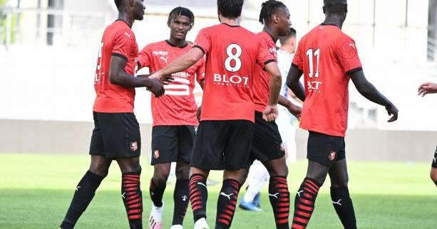 Foot - Amical - Amical: Rennes s'impose contre Angers