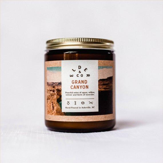 """<p><strong>ELDERandCO</strong></p><p>etsy.com</p><p><strong>$18.00</strong></p><p><a href=""""https://go.redirectingat.com?id=74968X1596630&url=https%3A%2F%2Fwww.etsy.com%2Flisting%2F643838289%2Fgrand-canyon-cabin-candle-public-lands&sref=https%3A%2F%2Fwww.goodhousekeeping.com%2Fholidays%2Fgift-ideas%2Fg29369141%2Fbest-gifts-for-brother-in-law%2F"""" rel=""""nofollow noopener"""" target=""""_blank"""" data-ylk=""""slk:Shop Now"""" class=""""link rapid-noclick-resp"""">Shop Now</a></p><p>He may not be able to hike at the Grand Canyon every day, but he'll be able to fill his house with a familiar earthy scent: agave, willow and hints of lavender to create a calming atmosphere.</p>"""