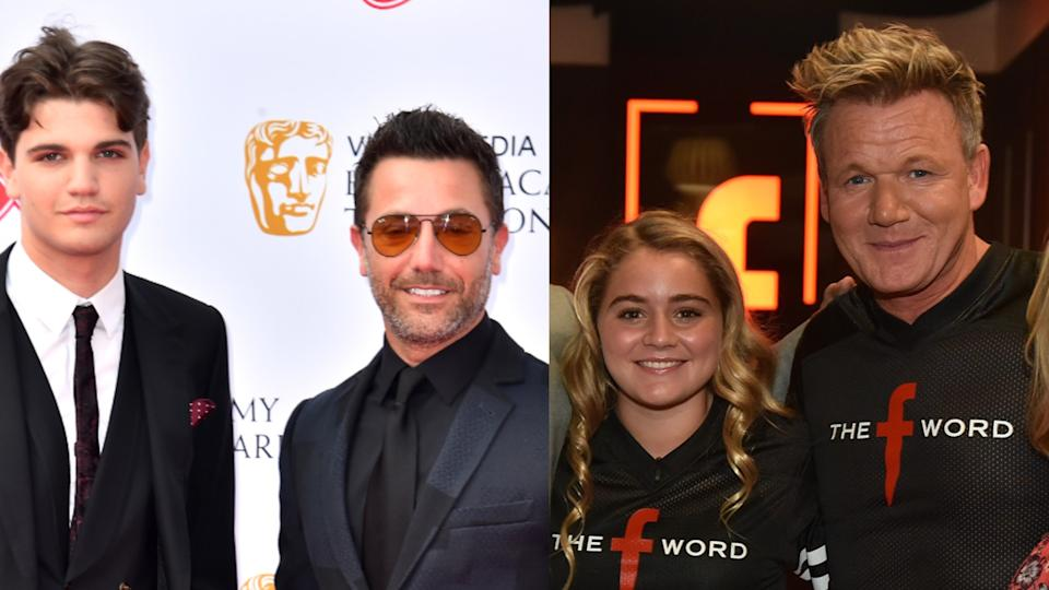 Gino D'Acampo's son Luciano is dating Gordon Ramsay's daughter Tilly (Credit: PA/Getty)
