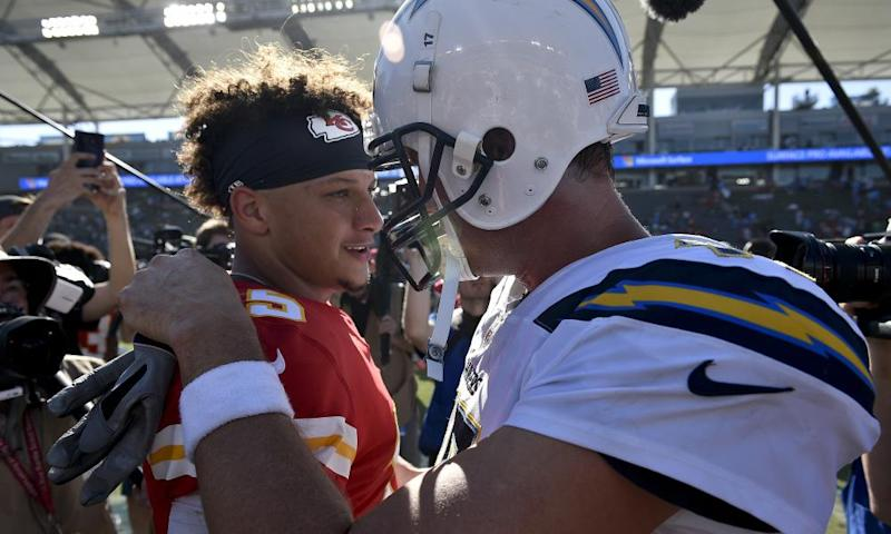 Patrick Mahomes looks willing to sling the ball on every passing play