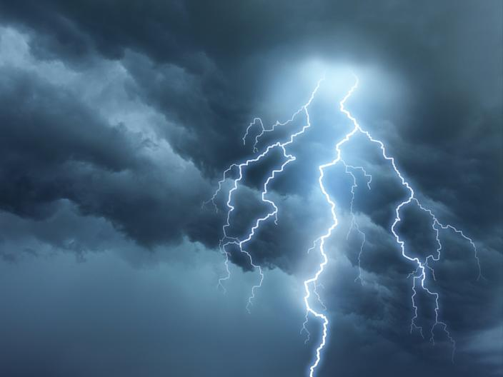 Forecasters have warned 'intense' thunderstorms are set to hit the UK amid high temperatures (Getty Images/iStockphoto)