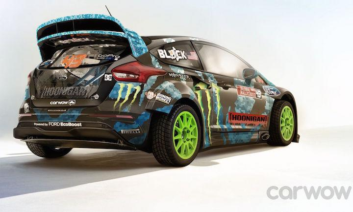 Ken Block Focus RS photo & Ken Block Ford Focus RS Rally Car Looks Insanely Cool markmcfarlin.com