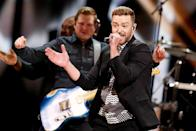"""<p>The feelgood song has sold 2,438,000 copies since its release in May. This is the second time in the past three years that the year's top-selling song was written for an animated feature film. Timberlake co-wrote this song for 'Trolls.' Pharrell Williams wrote """"Happy,"""" the top-seller of 2014, for 'Despicable Me 2.' (Photo by Michael Campanella/WireImage) </p>"""