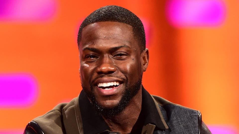 Father-of-three Kevin Hart has never changed a nappy