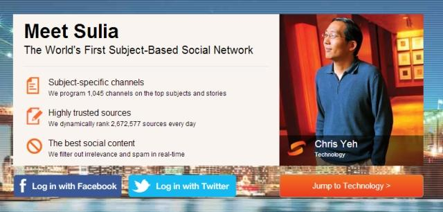 Sulia: The Hottest Social Network You've Never Heard Of