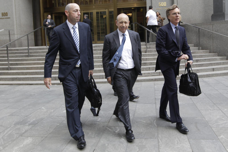 Goldman CEO testifies at ex-board member's trial