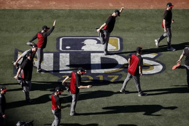 Several Diamondbacks pitchers will have to step up if they hope to stay alive in the 2017 postseason. (AP)