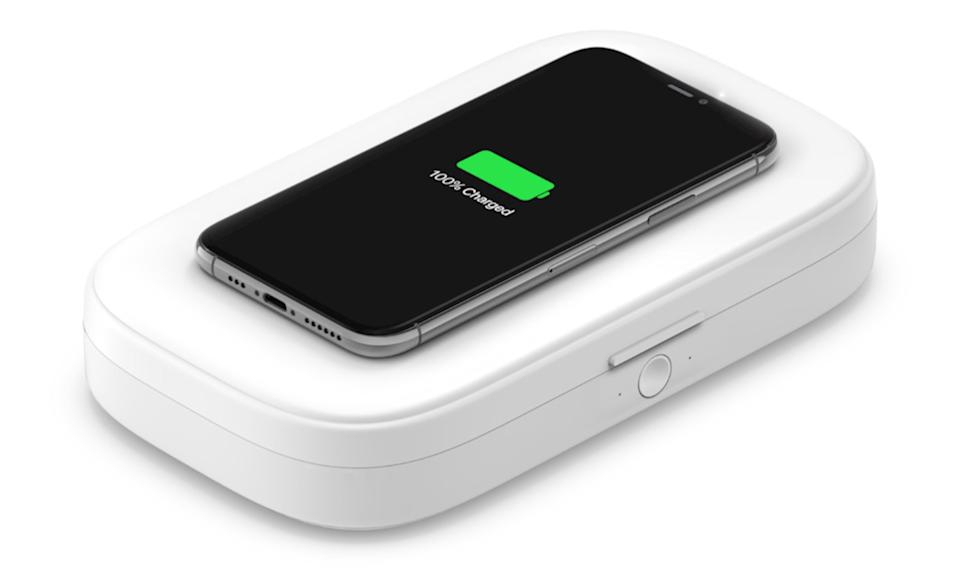 Belkin UV Sanitizer + Wireless Charger