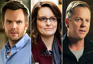 Community, 30 Rock, Touch | Photo Credits: Lewis Jacobs/NBC; Ali Goldstein/NBC, Kelsey McNeal/Fox