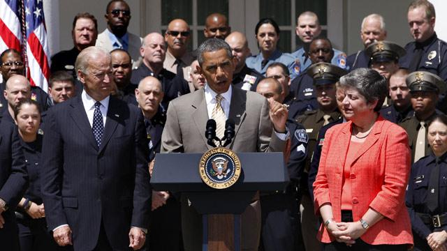 Obama Honors Nation's Top Police Officers