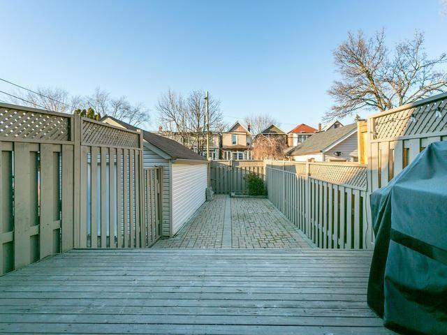 """<p><a href=""""https://www.zoocasa.com/toronto-on-real-estate/5105224-224-browning-ave-toronto-on-m4k1x2-e4051817"""" rel=""""nofollow noopener"""" target=""""_blank"""" data-ylk=""""slk:224 Browning Ave., Toronto, Ont."""" class=""""link rapid-noclick-resp"""">224 Browning Ave., Toronto, Ont.</a><br> The home has a fenced backyard, and a shared driveway with space for three cars.<br> (Photo: Zoocasa) </p>"""