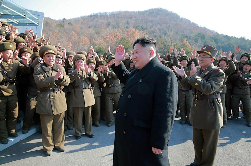 North Korea leader Kim Jong-un has spooked world markets as he presses ahead with his ballistic missile programme (AFP/Getty Images)