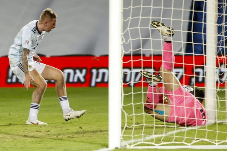 Scotland failed to score for the second straight game in a 1-0 defeat in Israel