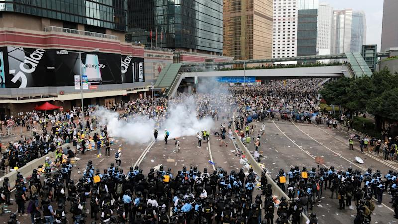 Hong Kong police facing High Court challenge over officer's 'Jesus' comment during extradition bill protest