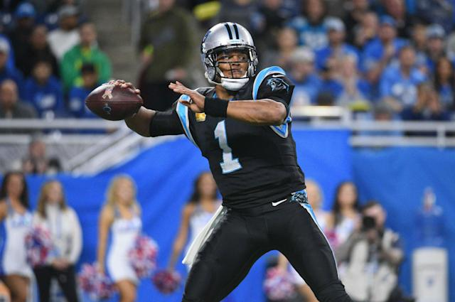 Cam Newton will bid to keep Carolina in the playoff hunt