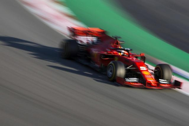 Ferrari thought it was 0.5s faster after first test