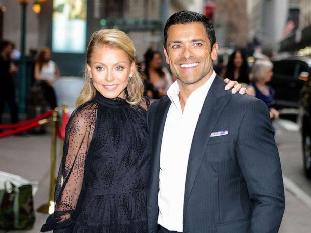 PHOTO: Kelly Ripa and Mark Consuelos are seen on June 17, 2019 in New York City. (GC Images via Getty Images)