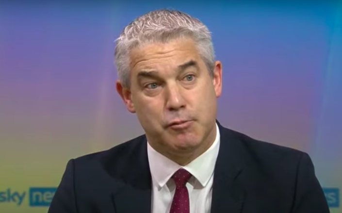 Cabinet Office minster Stephen Barclay refused to apologise for the government's handling of the COVID pandemic. (Sky News)