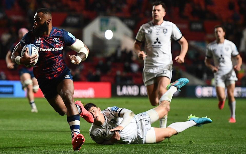 All-action Bristol blow away 14-man Gloucester despite missing eight try-scoring chances - Getty Images
