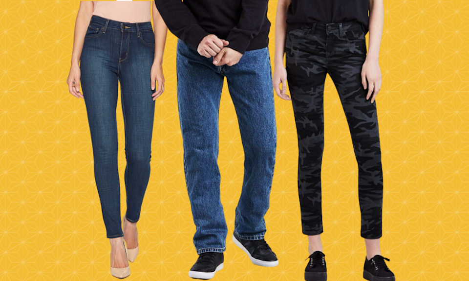 All Levi's jeans are marked up to 45% off.