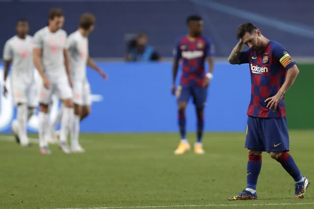 Lionel Messi's future is in doubt