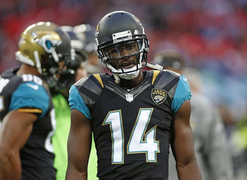 Jaguars WR Blackmon suspended indefinitely