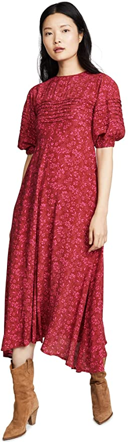 "<br><br><strong>Free People</strong> Jessie Midi Dress, $, available at <a href=""https://amzn.to/3nWfaW8"" rel=""nofollow noopener"" target=""_blank"" data-ylk=""slk:Amazon"" class=""link rapid-noclick-resp"">Amazon</a>"